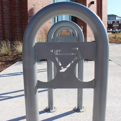 Bike rack picture