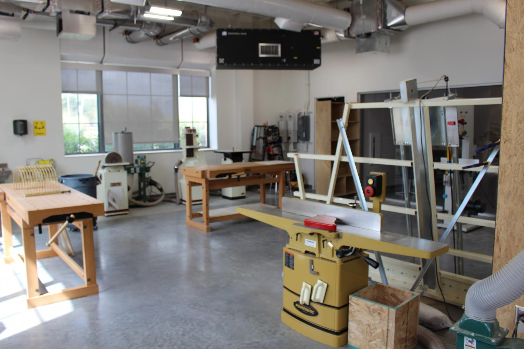 Wood Shop Nebraska Innovation Studio Nebraska