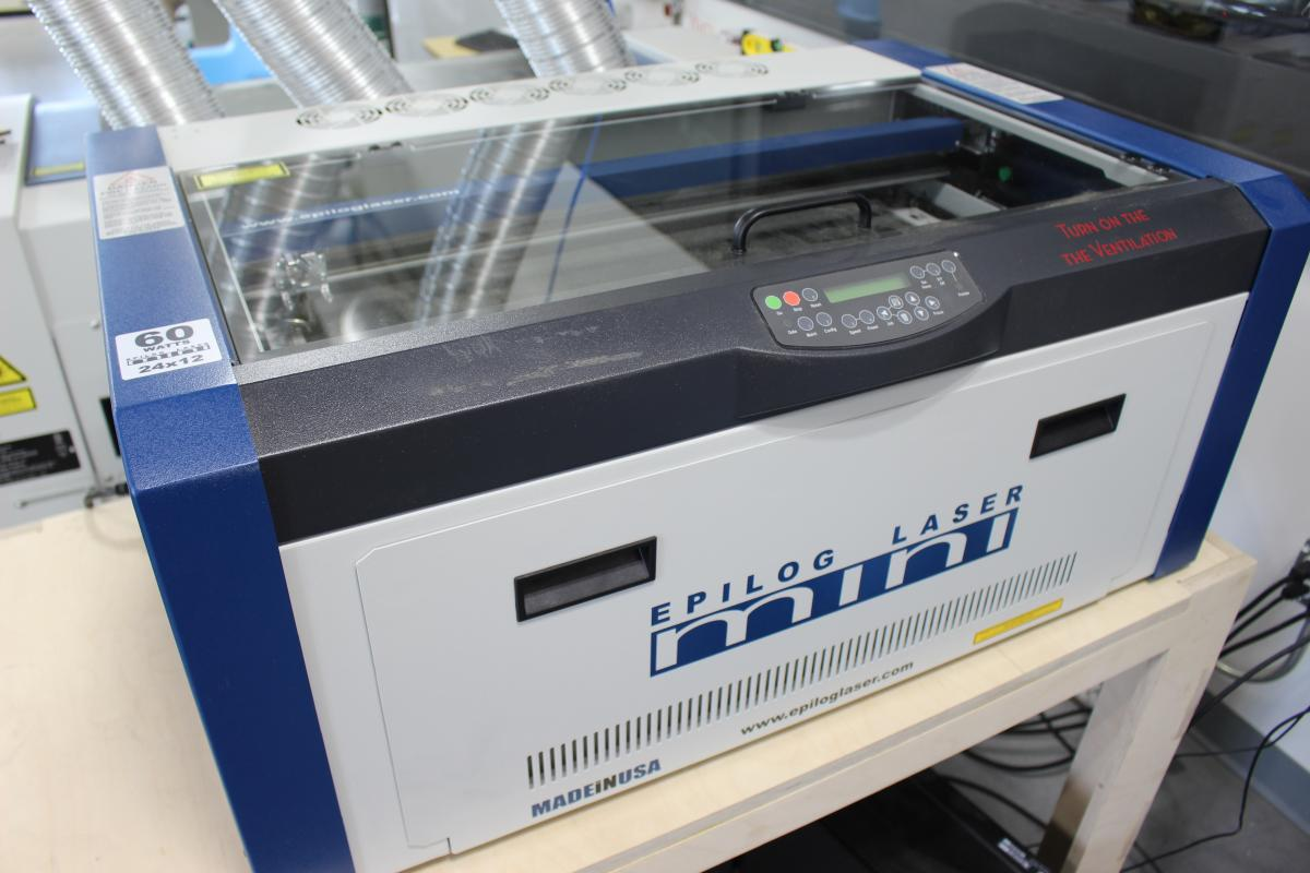 Epilog Mini 24 Laser Cutter Nebraska Innovation Studio